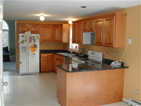 Classic Kitchen Cabinet Refacing by More Before And After Cabinet Refacing Photos 3 Classic