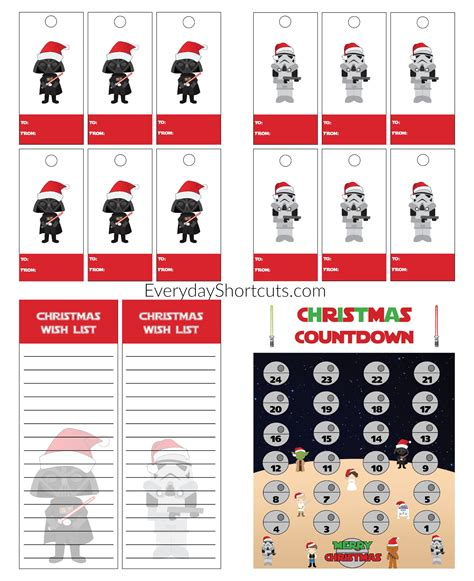 printable star tags star wars gift tags pictures to pin on pinterest pinsdaddy