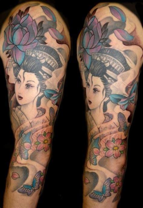 significato tattoo geisha con spada tatuaggi per lui in stile giapponese maori e non solo i