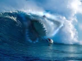 Tsunamis big waves traumatic childhood experiences in the beach