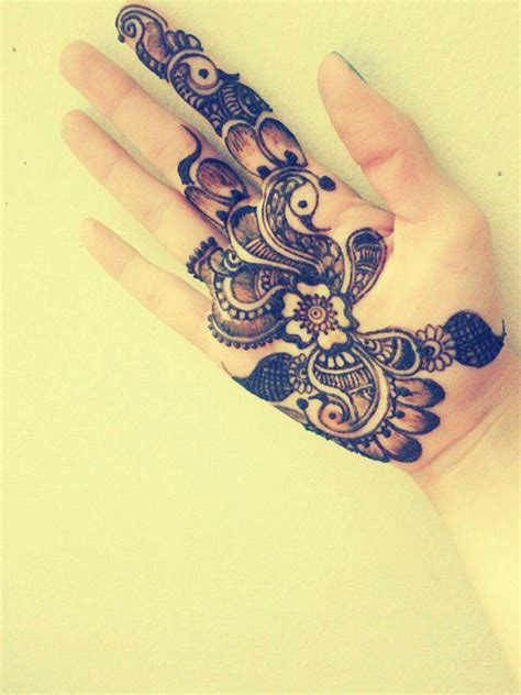 intricate arabic henna design mehndi pinterest