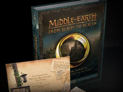 middle earth from script to screen building the world of the lord of the rings and the hobbit books middle earth from script to screen tolkiendrim