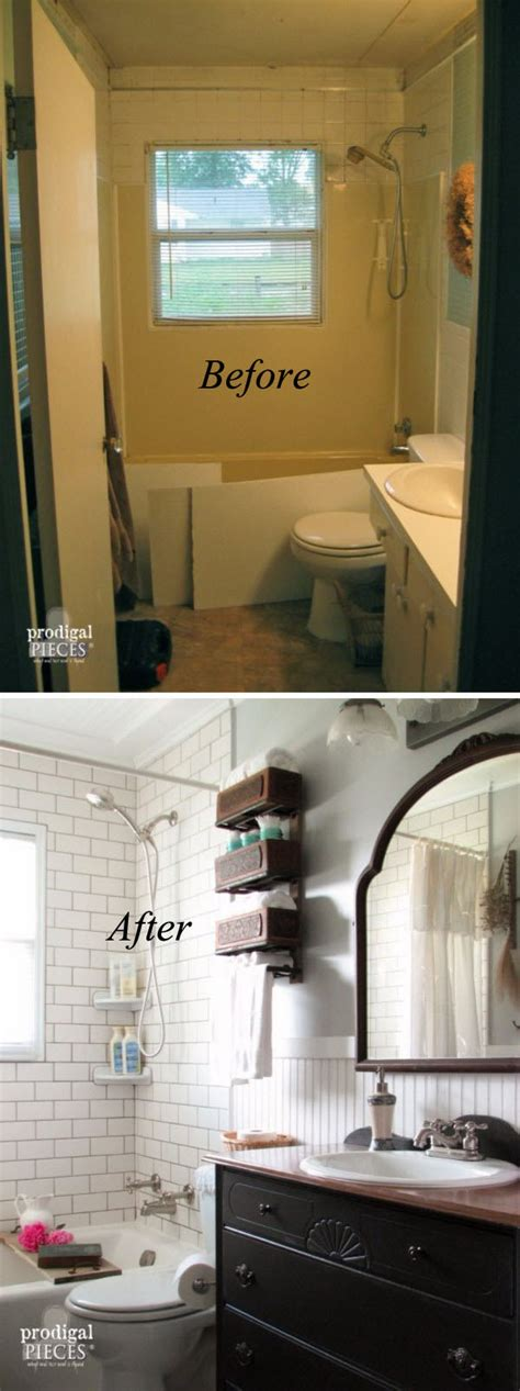 renovate small bathroom 33 inspirational small bathroom remodel before and after
