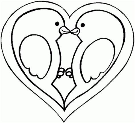 imagenes de corazones sin pintar corazon para colorear