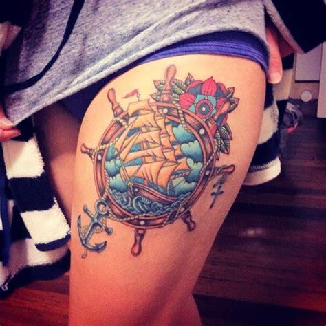 nautical tattoos 100 cool nautical tattoo ideas for sea lovers