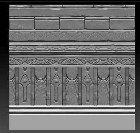 zbrush tutorial kickass throne room the temple of utu martinh minos polycount