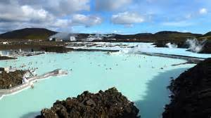 aerial view of blue lagoon tweets world