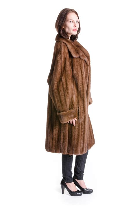 luxury ladies fur coats buy mink coat pastel brown luxury mink fur style pelzmode