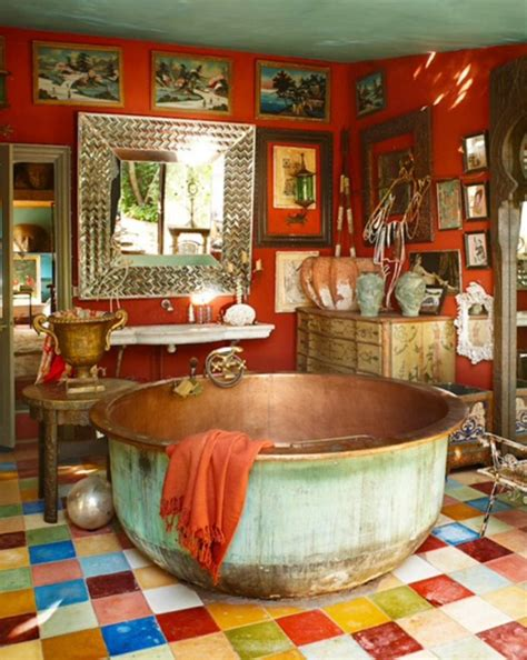 7 Amazing Uses For A Copper by Bohemian Bath With Amazing Copper Tub Bathroom