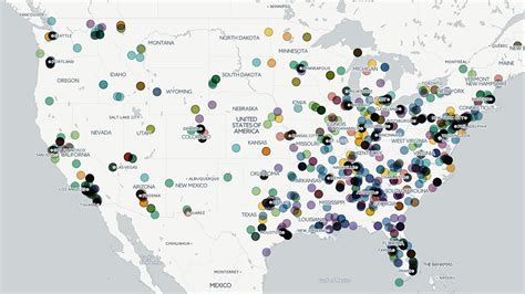 map us hate groups mapping hate the rise of hate groups in the us usa al