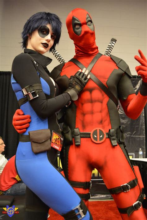 best comics 2014 domino deadpool montreal comiccon 2014 by