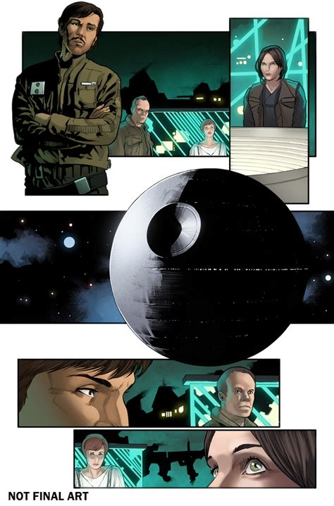 wars rogue one graphic novel adaptation books marvel to adapt rogue one into comic form bounding into
