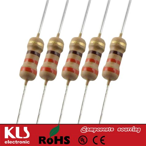 carbon resistor standard values carbon fixed resistor manufacturer supplier kls electronic co ltd