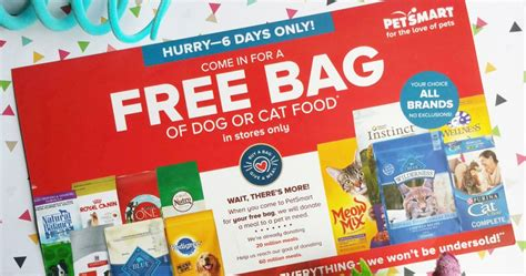 petsmart food coupons petsmart possible free bag of or cat food check inbox mailbox