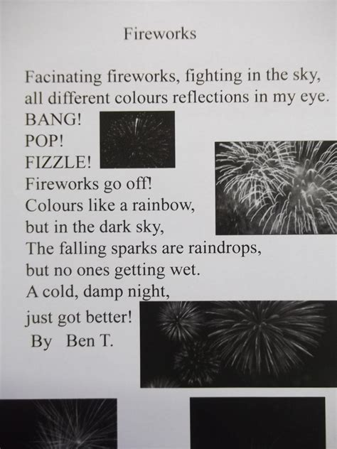 bonfire night poems chestnut redhills