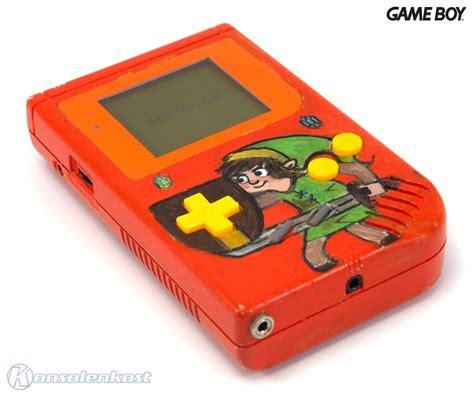 game boy link cable mod gameboy console custom mod zelda link ebay