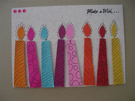Handmade Birthday Card - birthday cards handmade new calendar template site