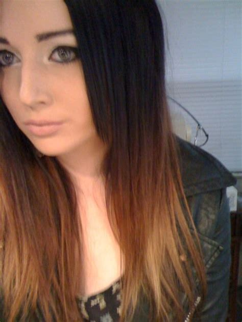 ambry on black hair short ombre hair brown cool hairstyles