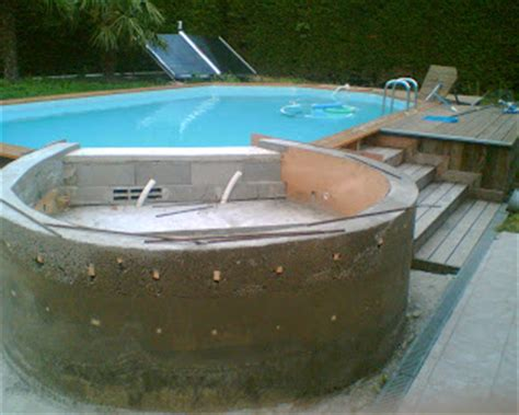 Construire Un Spa by Construire Un Spa Construction D Un Spa 224 D 233 Bordement