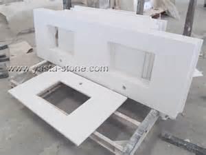 china square sinks white quartz vanity tops bathroom white
