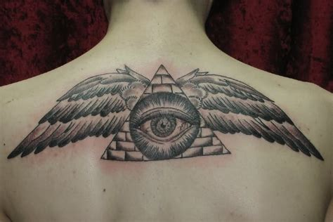 tattoo eye with wings 22 illuminati eye tattoo pictures images and designs