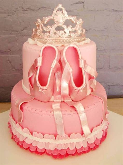 Balet Shoes Birthday Cakes 45 best ballet ballerina cake and cupcakes images on