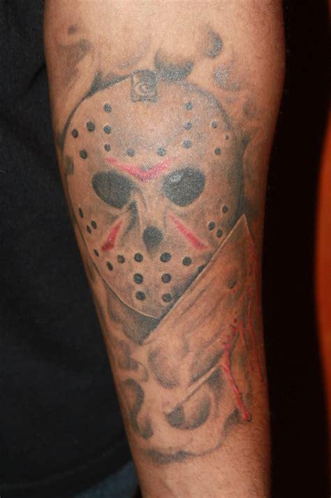 simple knife tattoo 35 wonderful jason mask tattoos