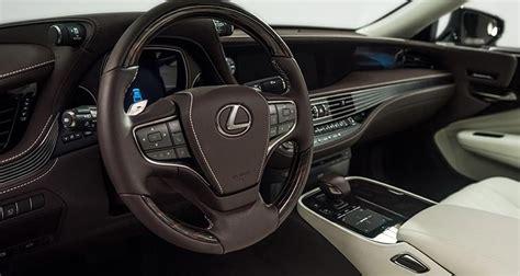 lexus ls interior 2018 preview 2018 lexus ls luxury sedan consumer reports