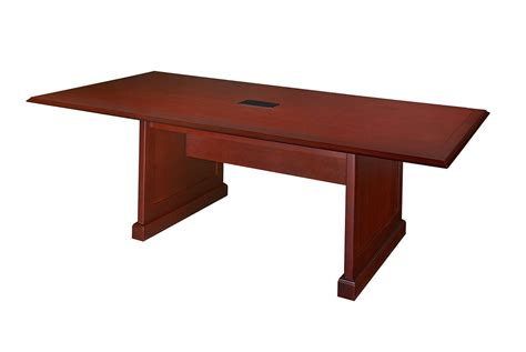 South Conference Table Premium 8 Foot Rectangular Conference Table In Rich Mahogany Finish Computerdesk