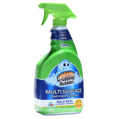 scrubbing bubbles foaming disinfectant bathroom cleaner 32 ounces ebay