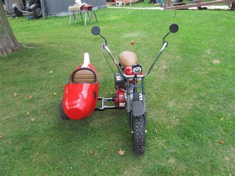 custom built mini bike with sidecar for sale on 2040 motos