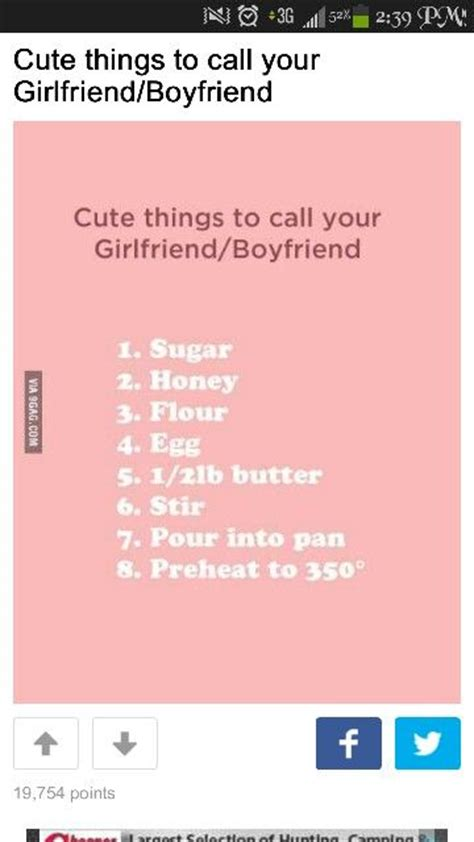 7 Things Not To With Your Boyfriend by 1000 Ideas About Boyfriend Nicknames On