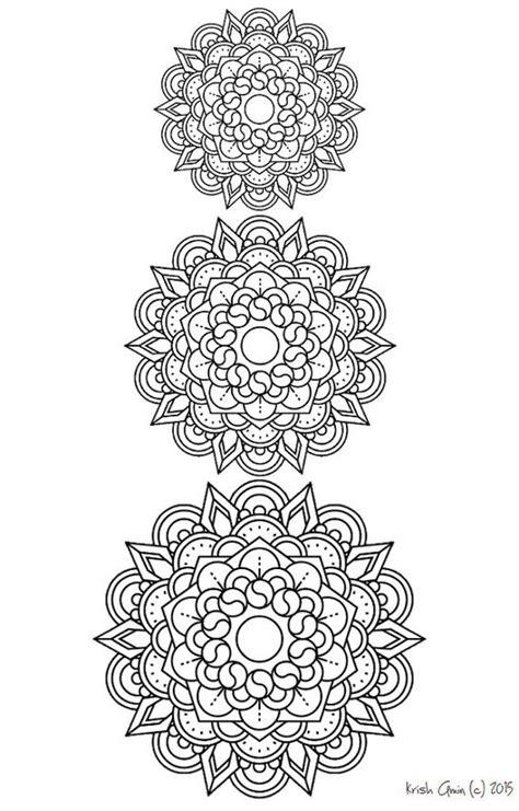 zen mandalas coloring book pdf printable intricate mandala coloring pages instant