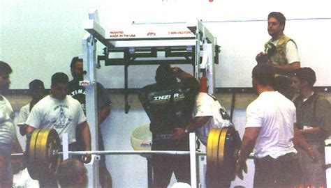 anthony clark bench press american strength legends anthony clark induction
