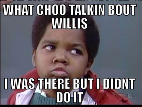 What You Talkin Bout Willis Meme - this meme is about the association is causation fallacy i