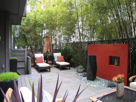 outdoor garden rooms contemporary outdoor space with accent wall hgtv