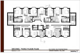 Apartment Building Floor Plans by Multi Story Multi Purpose Design By Jennifer Friedman At