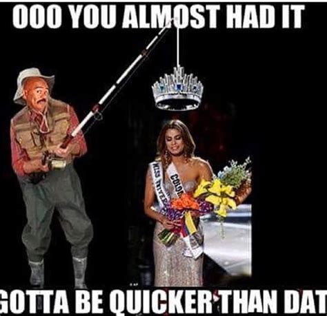 You Gotta Be Quicker Than That Meme - gotta be quicker than that steve harvey s miss universe 2015 gaffe know your meme