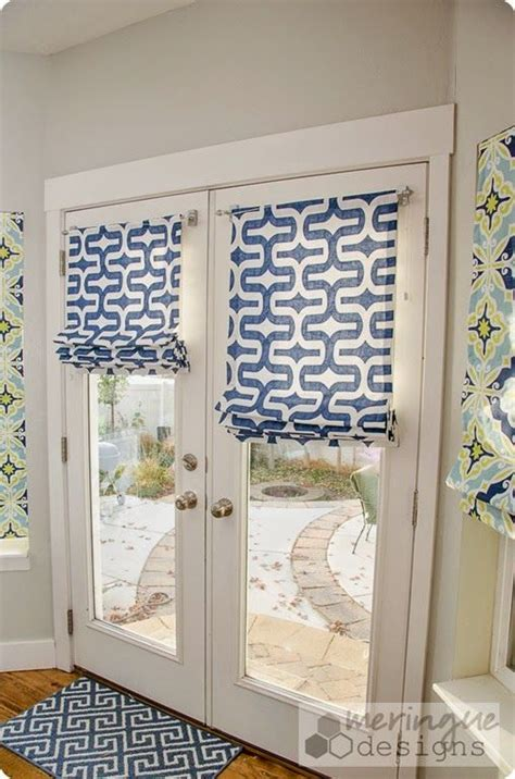 Door Shades For Doors With Windows by How To Sew Shades For Doors With Links To