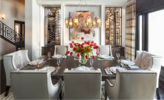 Hamptons inspired luxury dining room 1 before and after
