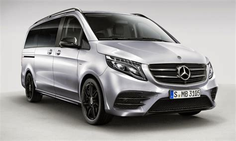 Mb V Class by Mercedes V Class Edition Adds Some Amg Spirit