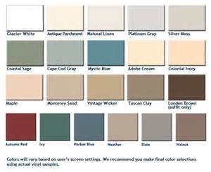 colors of siding siding contractors