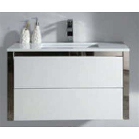 White Gloss Wall Mounted Bathroom Cabinet by Ect Niko 90 Wall Mounted Vanity Cabinet Gloss White