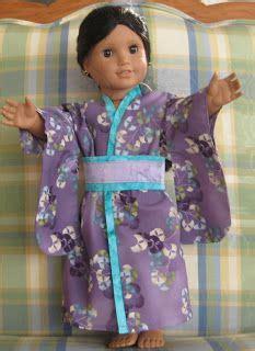 kimono pattern for 18 inch doll kimono pattern kimonos and 18 inch doll on pinterest