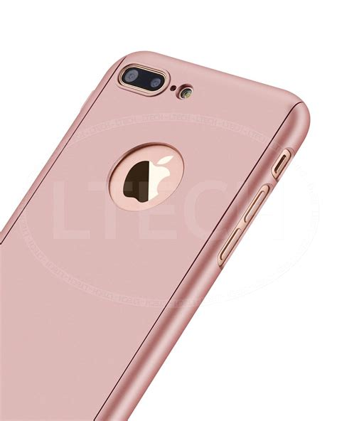 3in1 Casing Iphone 8 Hardcase 360 Cover Premium Black for apple iphone 7 plus 5 5 quot 360 front back tempered glass ebay