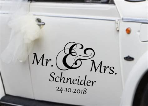 Junggesellenabschied Autoaufkleber by Autoaufkleber Hochzeit Junggesellinnenabschied Mit Name