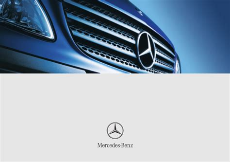 Mercedes Manuals by Mercedes Vito Owners Manual Pdf