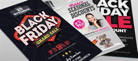 Black Friday Promotion Sale Flyer Template