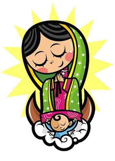 imagenes virgen de guadalupe caricatura virgen de guadalupe caricatura religijne pinterest