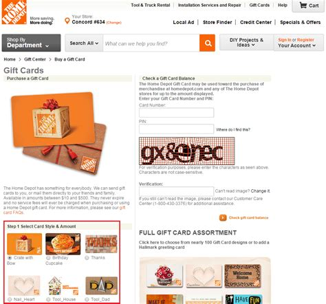 Home Depot Online Gift Card - new amex offers home depot whole foods fairway market and hilton garden inn